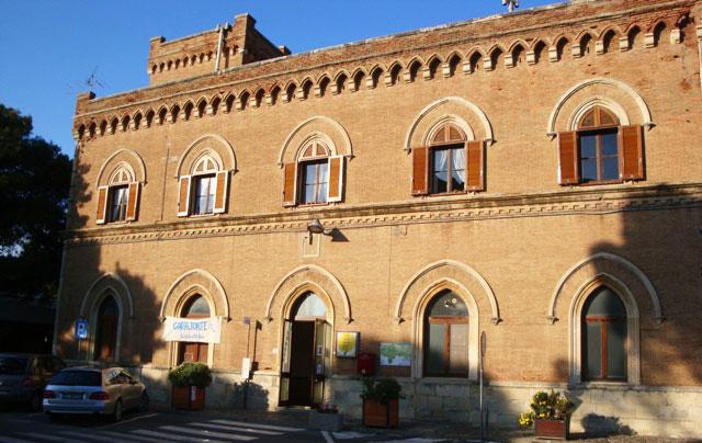 Castiglioncello, La Stazione - Sede della ProLoco