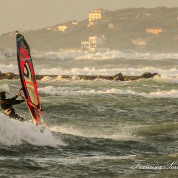 Windsurf a Castiglioncello