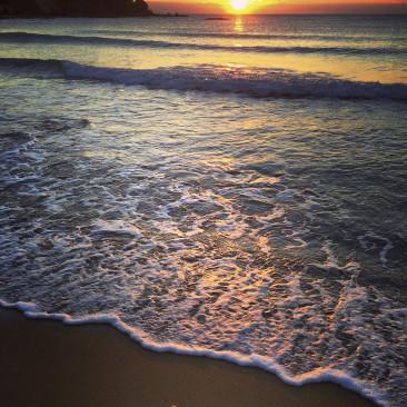 Mare di Castiglioncello al tramonto